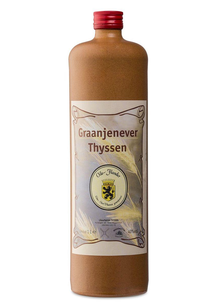 Foto Thyssen graanjenever O'de Flander kruik
