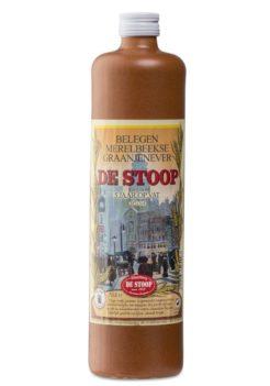 De Stoop belegen Merelbeekse graanjenever O'de Flander kruikje