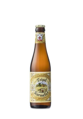 Foto Brouwerij Bosteels Tripel Karmeliet flesje