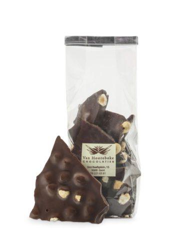 Foto Van Hoorebeke chocolade noten zwart