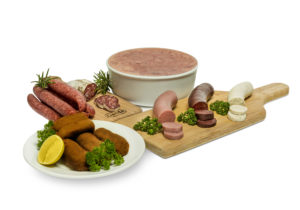Photo Assortment meat products and croquettes