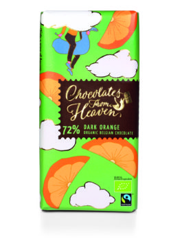 Foto Chocolates From Heaven Dark Orange