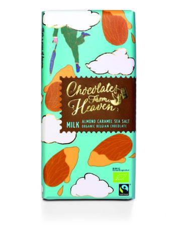 Foto Chocolates from Heaven amandel karamel zeezout